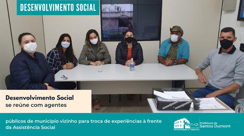 Desenvolvimento Social se reúne com equipe de Alfredo Vasconcelos
